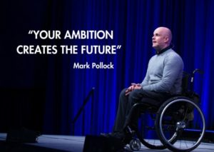 """Your ambition creates the future"""