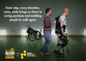 Every step, every donation bring us closer to curing paralysis