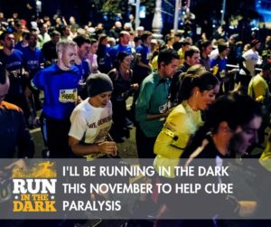 Running to help cure paralysis
